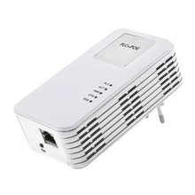 500Mbps HomeplugAV Anti-interference PoE Powerline Ethernet Adapter For 7days 24hours Continuous