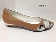Ladies Wedge Court Shoes With Casual Wedge Heels And All Leather Vamps And Wedge Heels And Round
