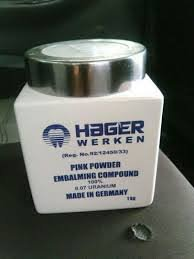 Embalming compound powder +27712909861hager werken